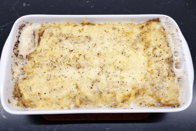 Crepes med champinjonfyllning