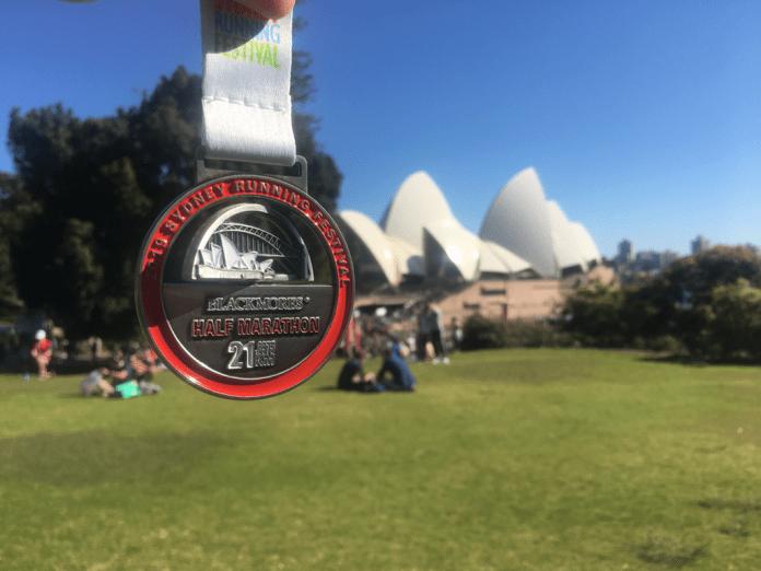 Sydney halfmarathon