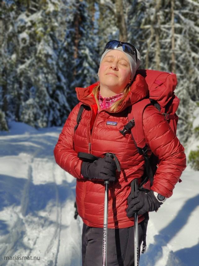 Maria skidor Svartsjöarna