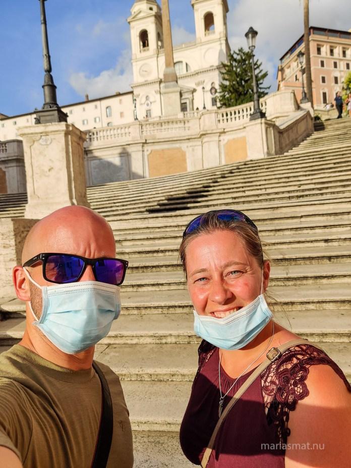 McD Spanska trappan i Rom