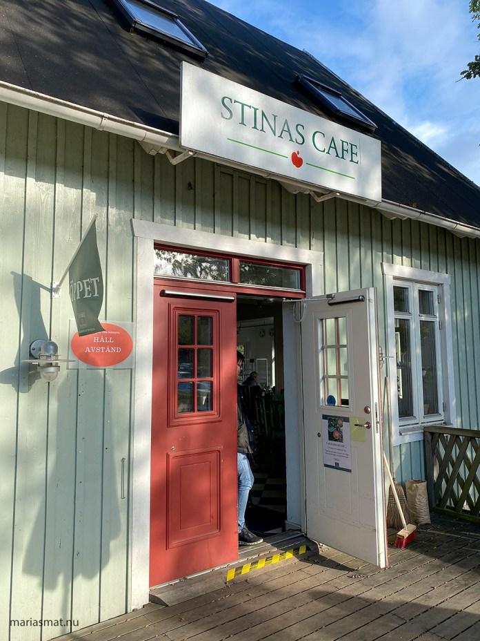 Stinas Café i Kivik