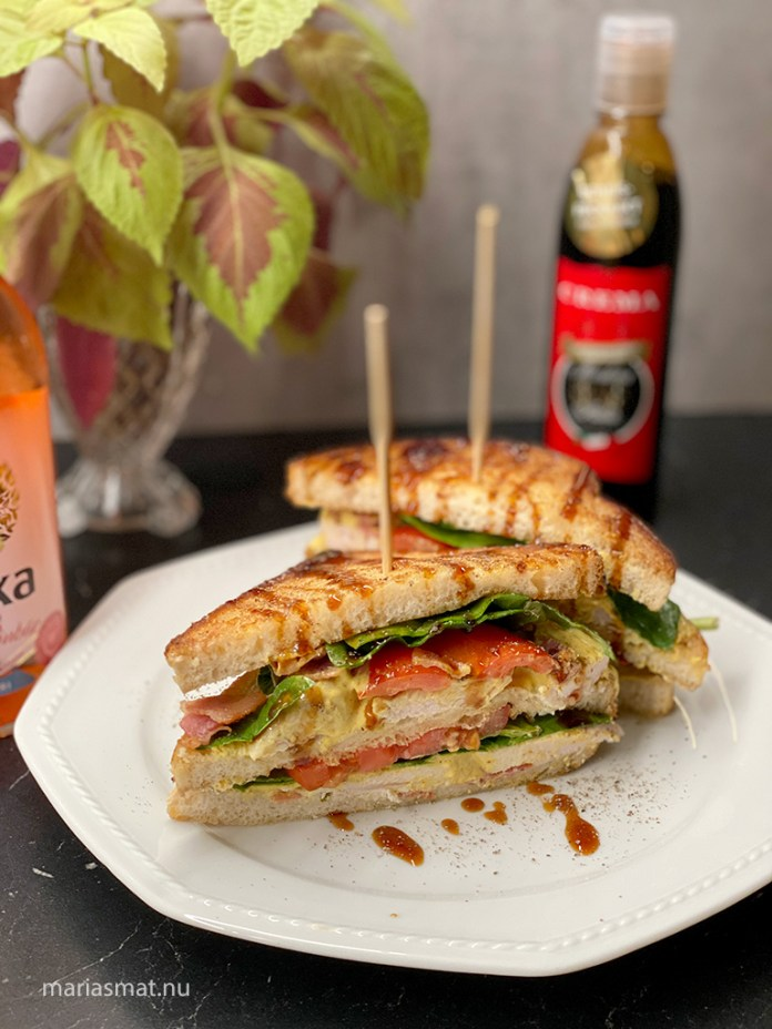 Club Sandwich som lördagsmys