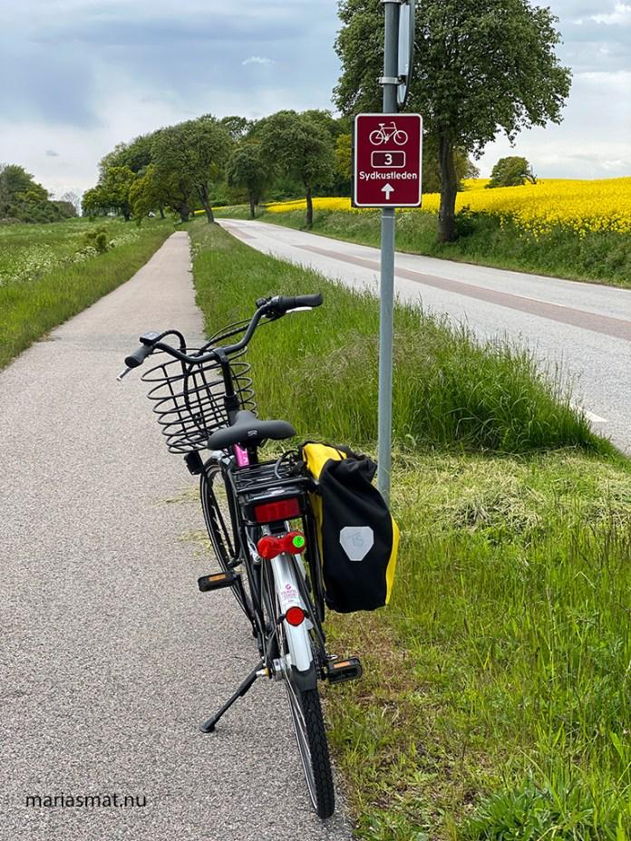 Cykla sydkustleden mellan Ystad och Abbekås