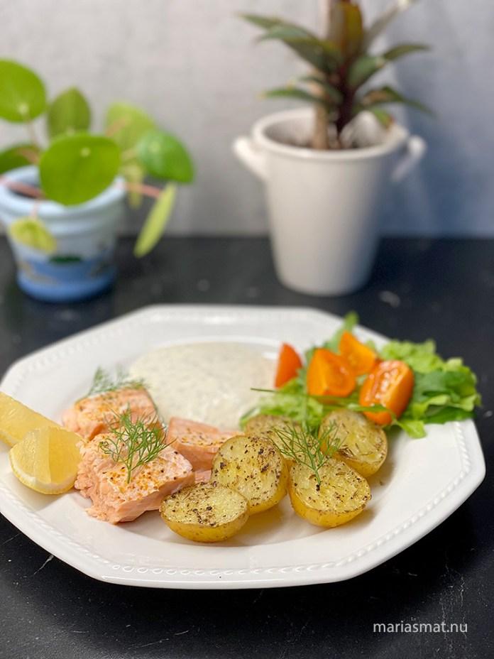 Ugnsbakade potatishalvor