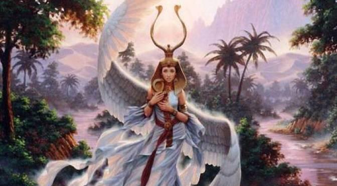 Isis is de Moeder van de 4 Goddelijke elementen en wat betekent dit?