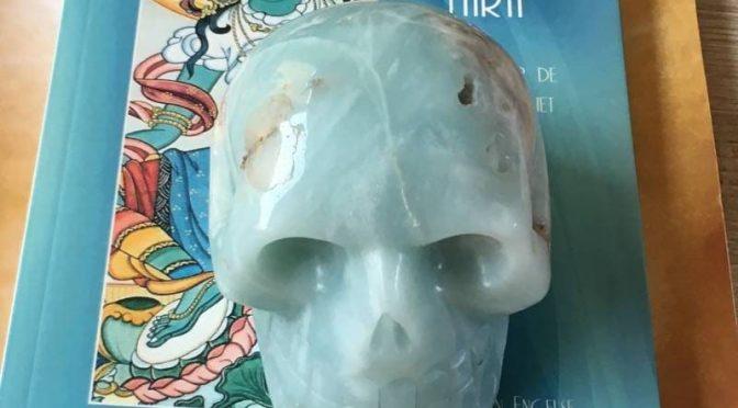 Amazoniet Skull 3 – Groene Tara LeMUria verbinding