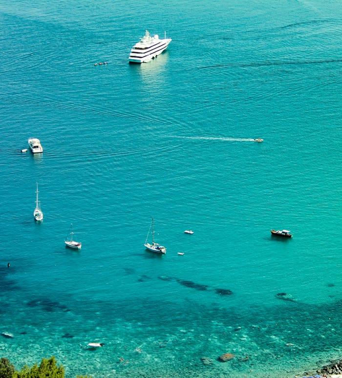 Azul turquesa en Sicilia