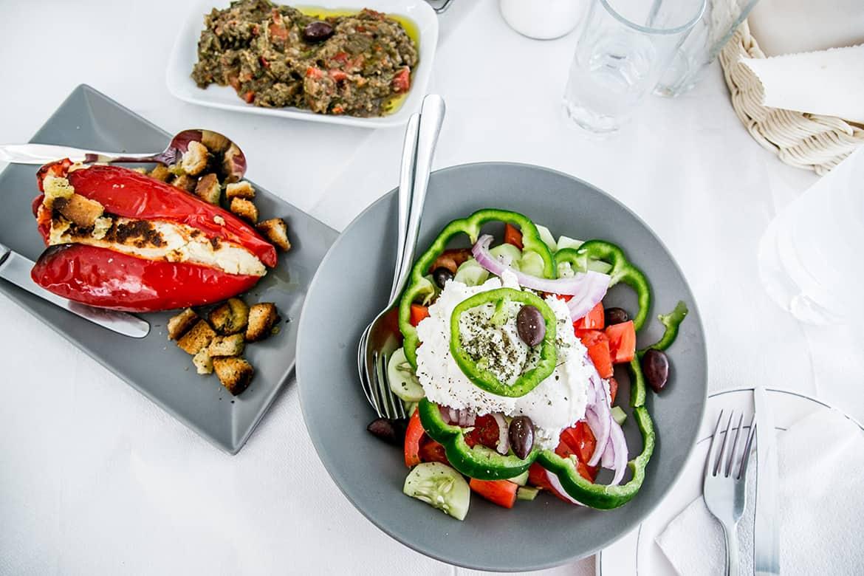 Que comimos en Grecia