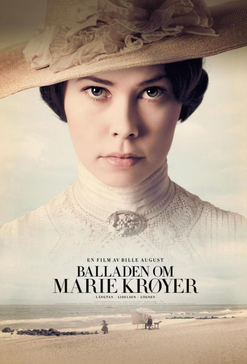Birgitte Hjort Sørensen. Marie Krøyer. Film plakat 2012