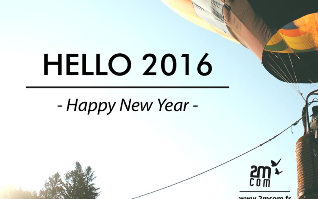 2016 : Nouvelle année, nouvel envol avec 2MCOM