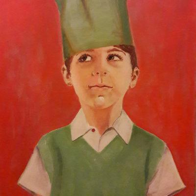 Marie Colombier Acrylique sur toile. 54x65cm. Ref 049