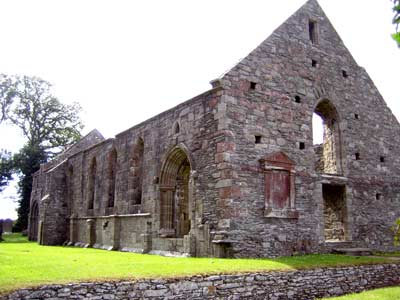 Present-day state of Whithorn Priory, these ruins twelfth-century