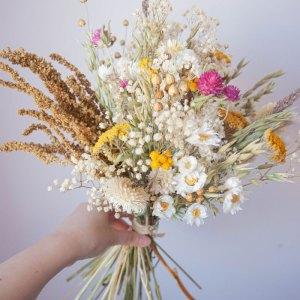 Bouquet fleurs séchées Zélie