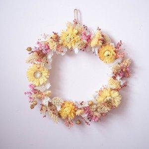 Couronne de fleurs séchées Oxane