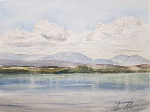 Oviksfjällen och storsjön, Jämtland