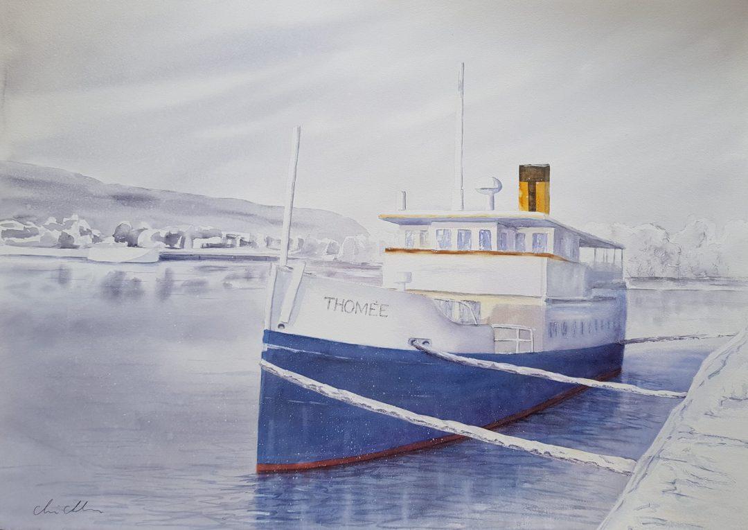 Ångbåt, Östersund, steem boat