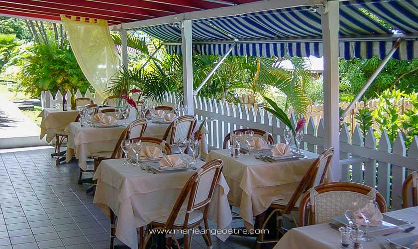 Guadeloupe, restaurant du Paradis Créole © Marie-Ange Ostré