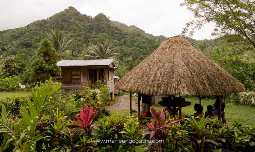 île de la Dominique, village Indiens Carib © Marie-Ange Ostré