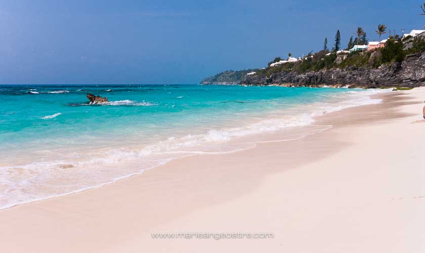 îles des Bermudes, plage et lagon © Marie-Ange Ostré