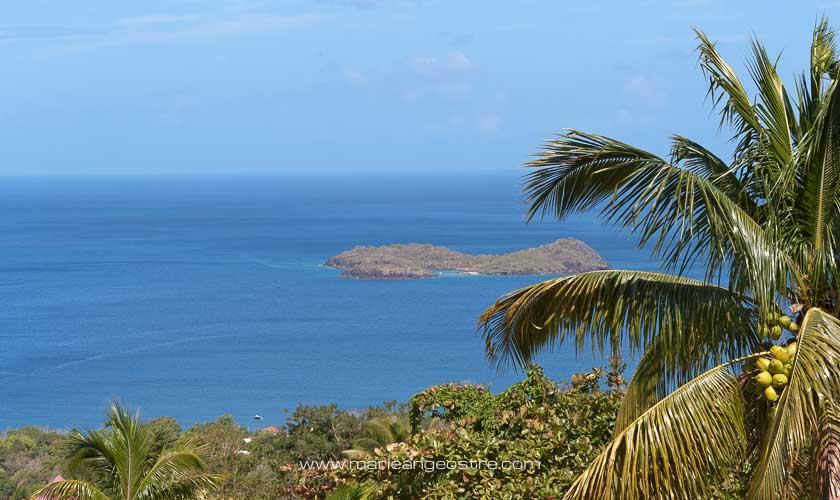 Guadeloupe, Îlet Pigeon vu depuis Basse-Terre © Marie-Ange Ostré