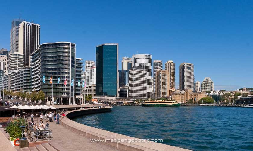 Australie, Circular Quay à Sydney (New South Wales) © Marie-Ange Ostré