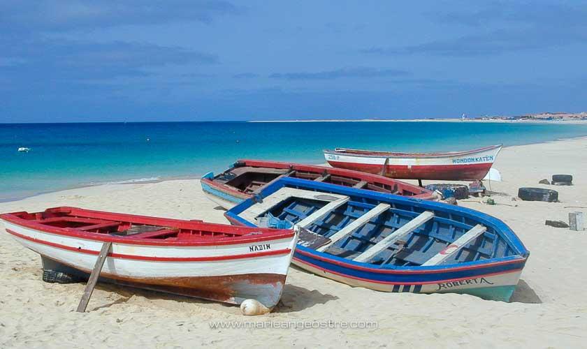 Cap-Vert, plage de l'île de Sal © Marie-Ange Ostré