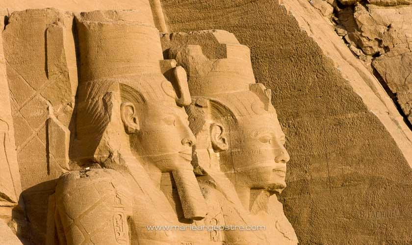 Egypte, le temple de Ramses II sur le site d'Abu Simbel © Marie-Ange Ostré