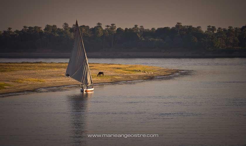 Egypte, felouque sur le Nil © Marie-Ange Ostré