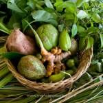 Seychelles, fruits et légumes pour cuisiner © Marie-Ange Ostré