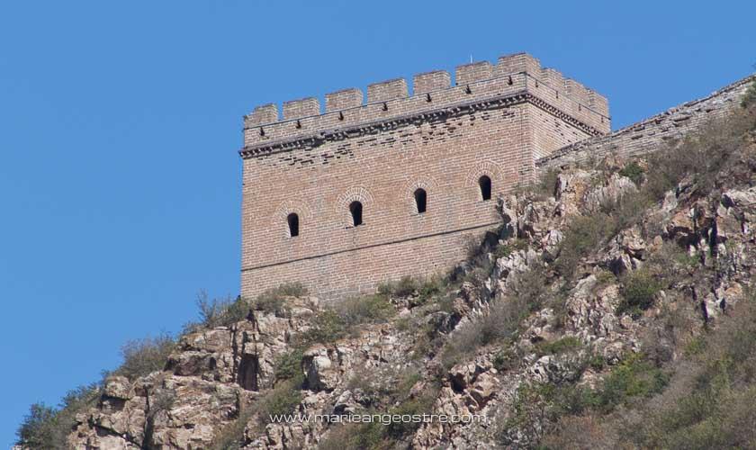 Chine, tour de guet sur la Grande Muraille, Simatai © Marie-Ange Ostré