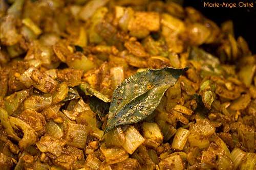 La Réunion, recette du rougail saucisses © Marie-Ange Ostré