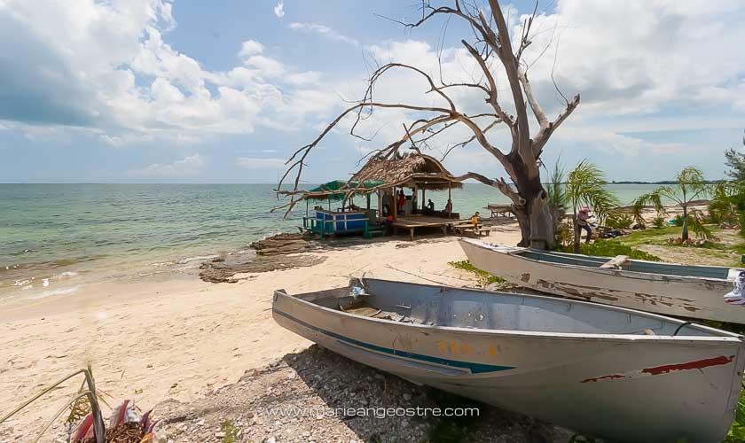 Bahamas, restaurant sur Cat Island © Marie-Ange Ostré