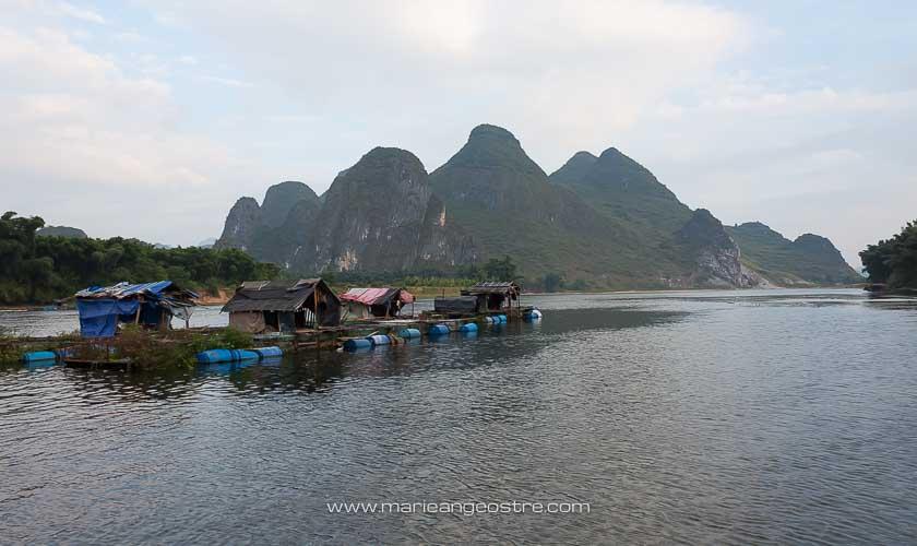 Chine, descente sur la Li River, province Guangxi © Marie-Ange Ostré