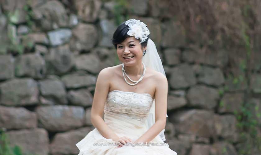 Chine, jeune mariée sur la Li River, province Guangxi © Marie-Ange Ostré