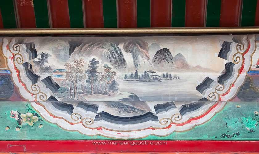Chine, Pekin, estampes au Palais d'Eté © Marie-Ange Ostré