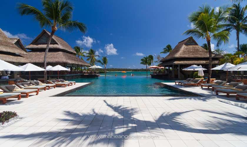 Île Maurice, piscine du Prince Maurice, l'hôtel 5* des stars © Marie-Ange Ostré