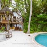 Maldives, villa au Soneva Fushi hotel © Marie-Ange Ostré