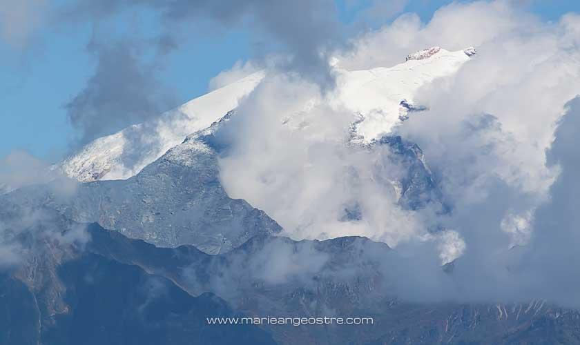 Chine, sommet de la Dragon Jade Mountain, Tibet province Shangri-La © Marie-Ange Ostré