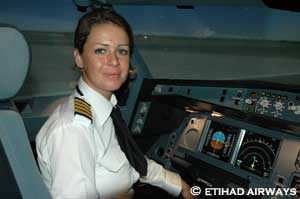 Commandant Sophie Blanchard, Etihad Airways