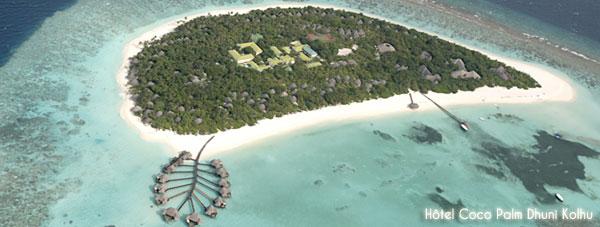 Maldives hôtel Coco Palm Dhuni Kolhu