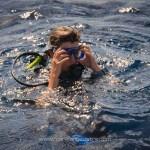 Marie-Ange Ostré, plongée à la Barbade