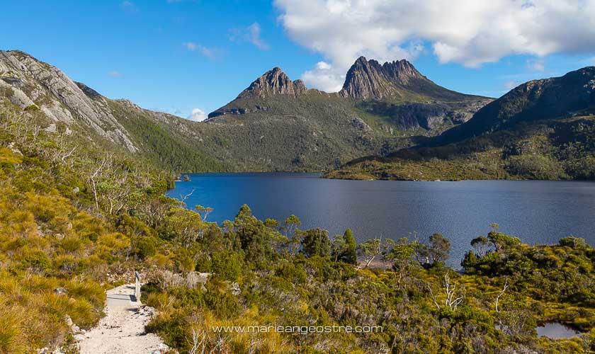 Australie, Cradle Mountain lake photographié en Tasmanie © Marie-Ange Ostré