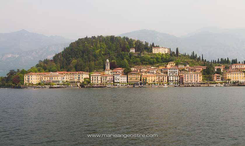 Italie, village de Bellagio sur les rives du lac de Côme © Marie-Ange Ostré
