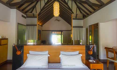 Maldives, hôtel Coco Palm Bodu Hithi, chambre © Marie-Ange Ostré