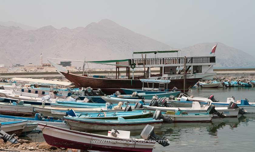 Dubai, bateaux de pêche © Marie-Ange Ostré
