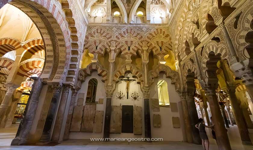 Espagne, intérieur de la cathédrale de Cordoue © Marie-Ange Ostré