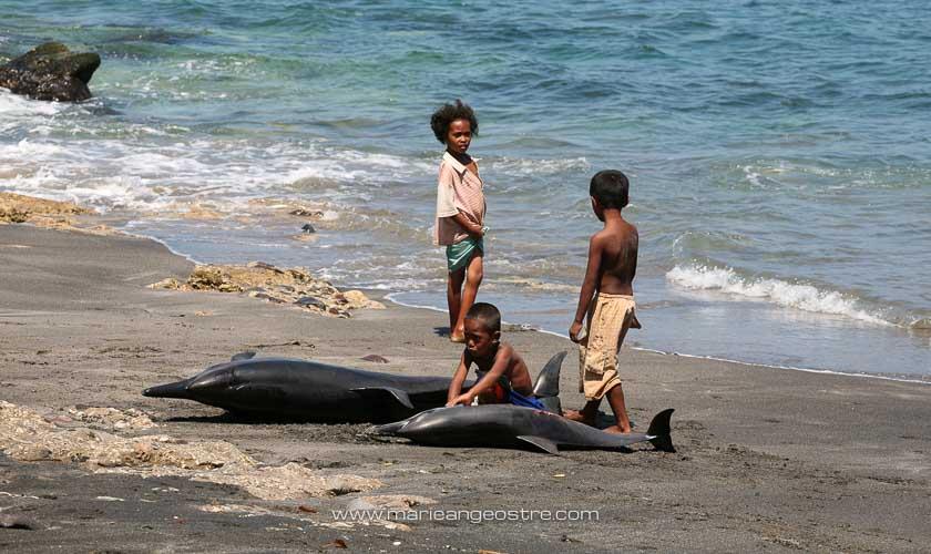 Indonésie, pêcheurs de baleines © Marie-Ange Ostré