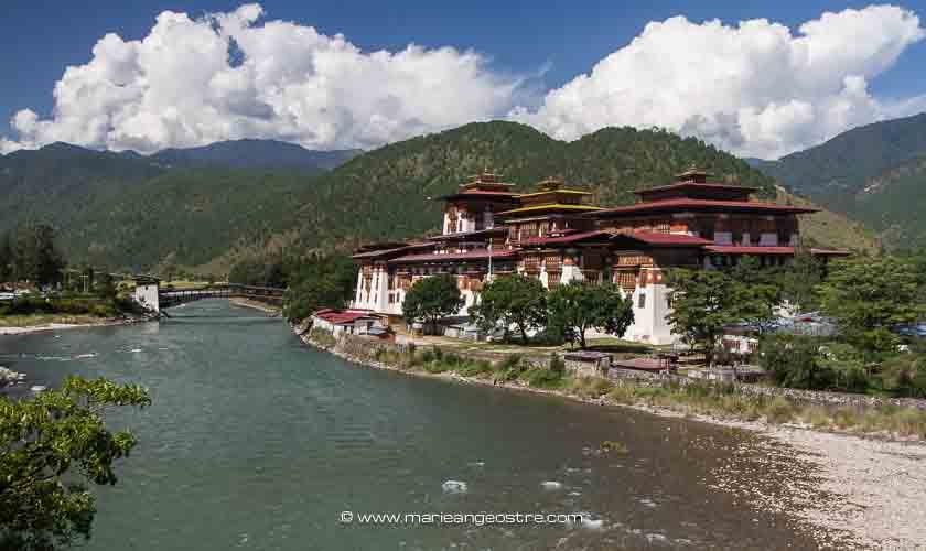 Bhoutan, forteresse de Punakha © Marie-Ange Ostré