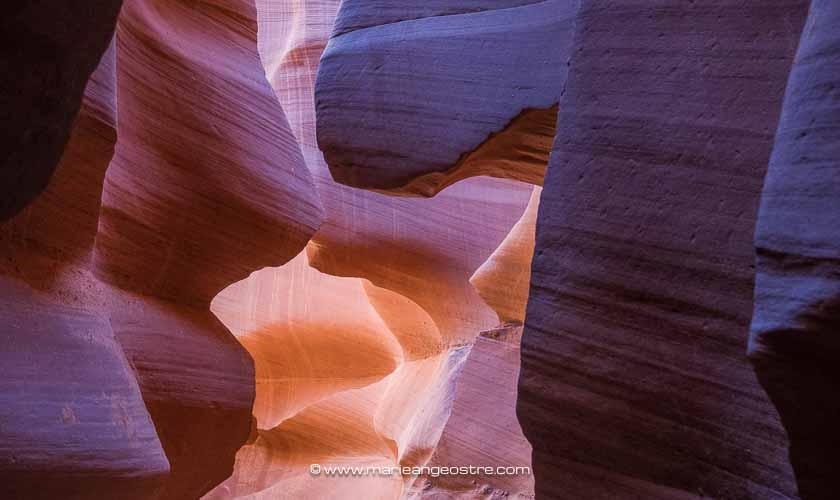 Visiter Lower Antelope Canyon, Arizona (USA) ©Marie-Ange Ostré