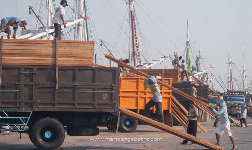 dockers Jakarta Sunda Kelapa © Marie-Ange Ostré